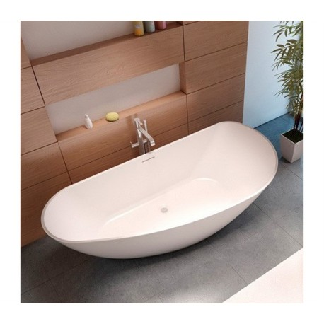 Riho Granada 190x90 cm laisvai statoma lieto marmuro vonia