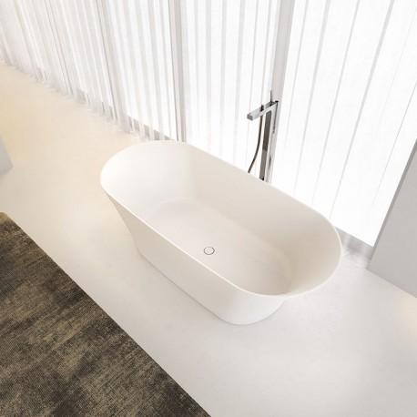 Riho Barca 170x79 cm laisvai statoma lieto marmuro vonia
