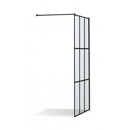 Juodos spalvos languota dušo sienelė Baltijos Brasta DIJA