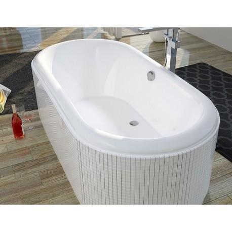 Įleidžiama ovali vonia RIHO Seth 180x86 cm
