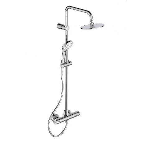 Termostatinė dušo sistema IdealRain Evo Round Ceratherm 100