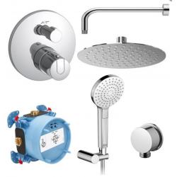 CERATHERM SET maišytuvų komplektas dušui