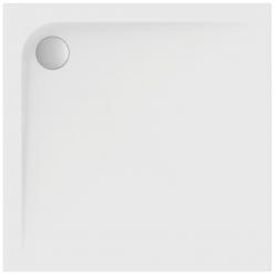 Kvadratinis akrilinis dušo padėklas Ultra Flat 100x100 cm