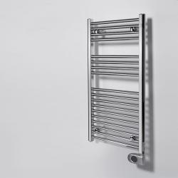 Elektrinis rankšluosčių džiovintuvas Aura 80x40, 90x50, 120x50 chromuotas