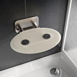 OVO-P II CLEAR sėdynė dušo kabinai