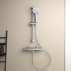 Ceratherm T50 virštinkinis termostatinis dušo maišytuvas su dušo komplektu 600 mm, A7217AA