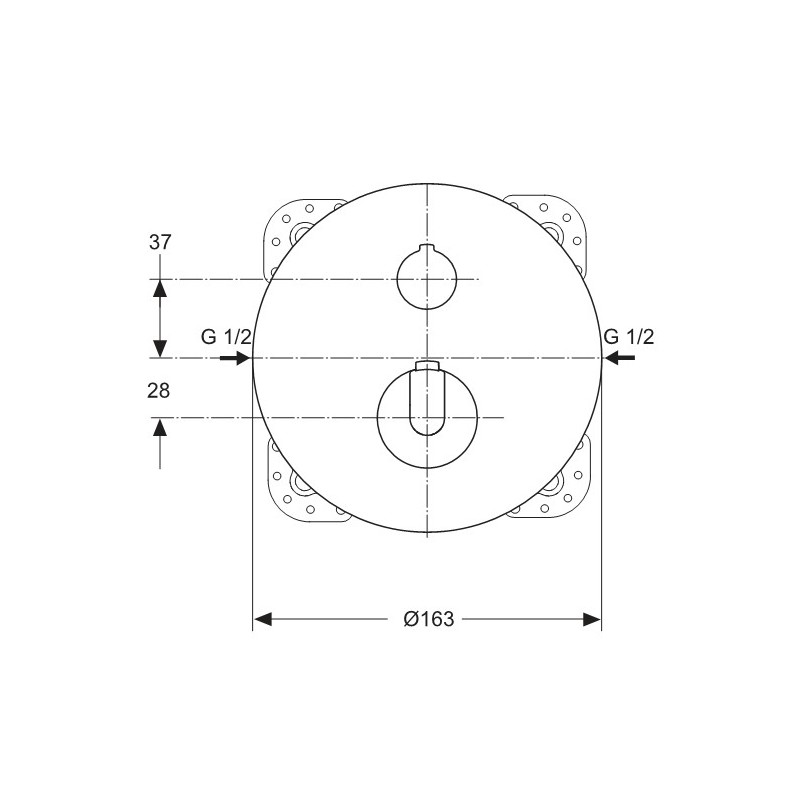 ceratherm 100 potinkinis termostatinis mai ytuvas vonia24. Black Bedroom Furniture Sets. Home Design Ideas