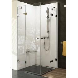 BRILLIANT BSRV4 keturių dalių kvadratinė dušo kabina