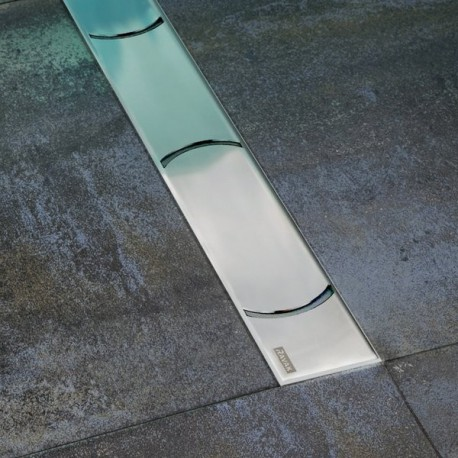 Nerūdijančio plieno nutekamasis latakas Chrome
