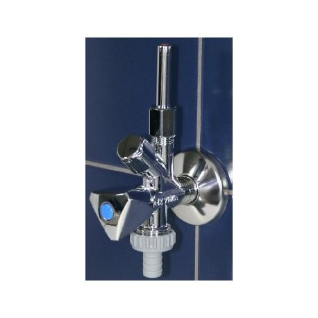 """NIL PLUS kombinuotas kampinis ventilis, 1/2x3/8x3/4"""""""