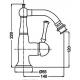 Bugnatese DENVER bidė maišytuvo techniniai duomenys