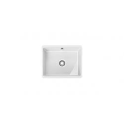 KBK 110-50 plautuvė virtuvei, spalva- balta
