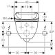 AquaClean 4000 WC dangtis su apiplovimo funkcija