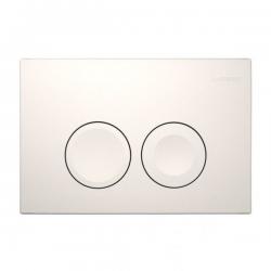 DELTA 21 vandens nuleidimo mygtukas,spalva- balta