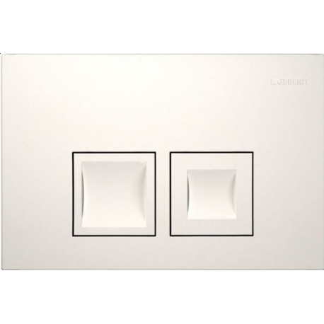 DELTA 50 vandens nuleidimo mygtukas, spalva- balta