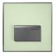 SIGMA 50 pneumatinis pisuaro mygtukas, spalva- tonuotas žalias stiklas