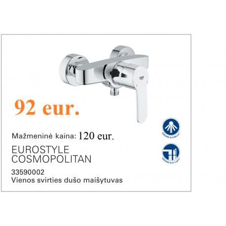 Eurostyle maišytuvas dušui