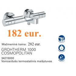 Grohtherm 1000 Cosmopolitan termostatinis maišytuvas voniai