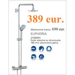 EUPHORIA dušo sistema su termostatiniu maišytuvu