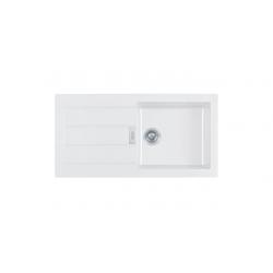 Franke SID 611- 100 virtuvinė plautuvė, spalva- balta