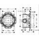 iBox potinkinio maišytuvo techninė informacija