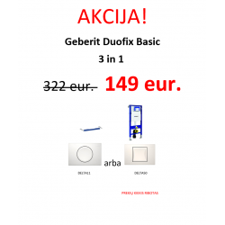 Geberit Duofix Basic 3 in 1 AKCIJA!