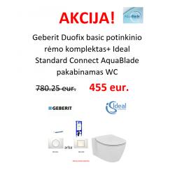 Geberit potinkinio rėmo ir Ideal Standard WC AKCIJA!