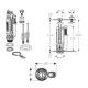 IMPULS 290 WC mechanizmai