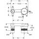 Potinkinio maišytuvo A5948NU techninė informacija