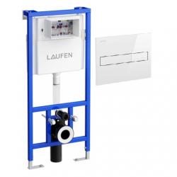 AKCIJA! Potinkinis rėmas Laufen LIS+ ir LIS Dual Flush mygtukas