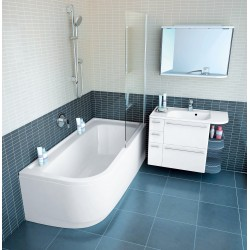 Ravak PRAKTIK LUX akrilinė vonia 185x90 cm
