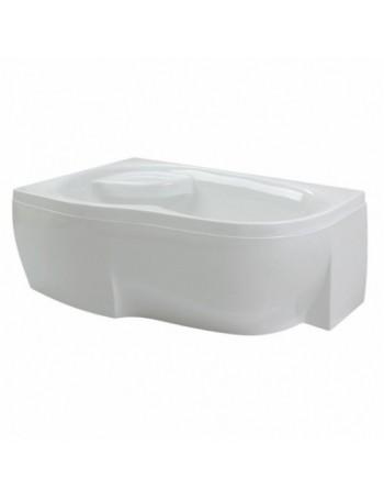 PAA MAMBO asimetrinė akrilinė vonia