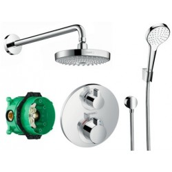 Potinkinė dušo sistema Hansgrohe Croma Select S/Ecostat S