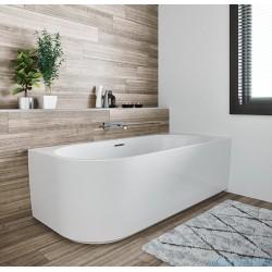 Laisvai statoma vonia Riho Desire Corner 184x84 cm, kairė