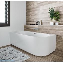 Laisvai statoma vonia Riho Desire Corner 184x84 cm, dešinė