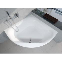 Kampinė vonia RIHO Atlanta 140x140 cm su kojelemis