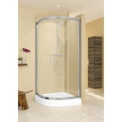 RIHO Hamar pusapvalė dušo kabina 90x90 cm