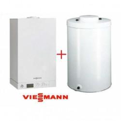 Dujinis katilas Viessmann Vitodens100W (6,5-19,0kw) + su 120l boileriu