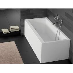Akrilinė vonia RIHO Julia 160x70, 170x75x 180x80x 190x90 cm