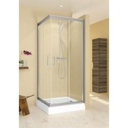 RIHO Hamar keturkampė dušo kabina 80x80 cm