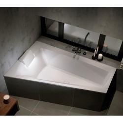 Asimetrinė vonia RIHO Still Smart 170x110 cm dešinės pusės